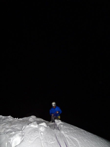 The summit in February! ARRRRRGH! Photo: J Thesenga