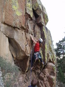 Rock Climbing Photo: Anne Yeagle starting var to Nazi Regalia 11a