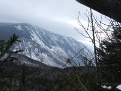 Rock Climbing Photo: Looking at Mt. Webster from the ice flows on Mt. A...
