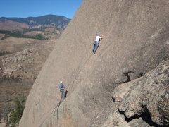 Rock Climbing Photo: Party on Fool's Gold.