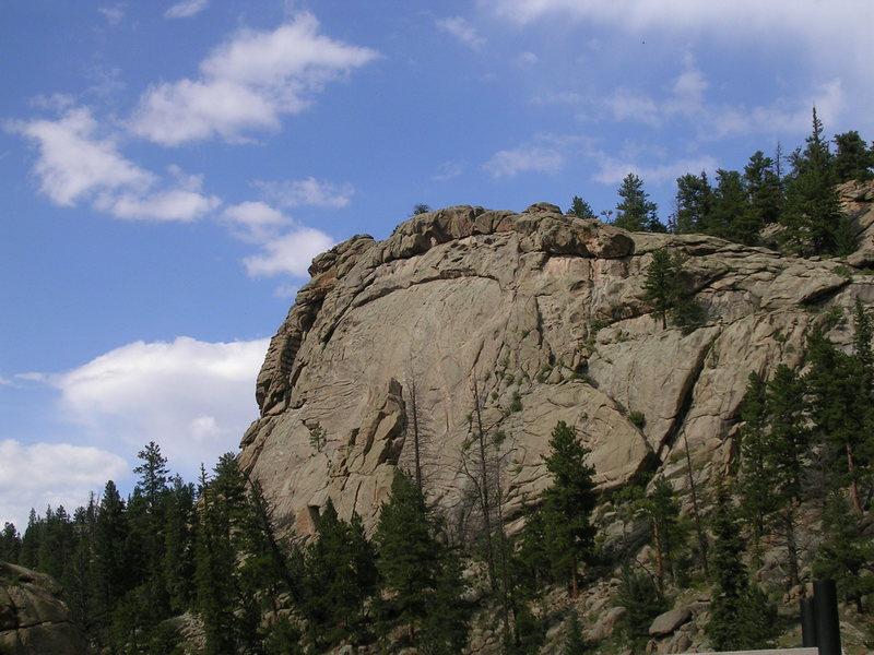 Rock Climbing Photo: Arch Rock