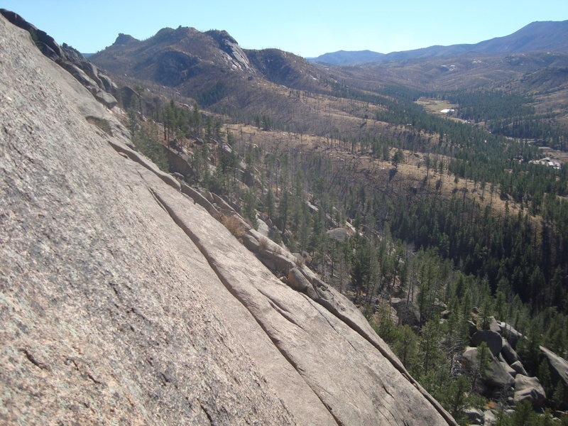 Rock Climbing Photo: Granite and Blue Skies