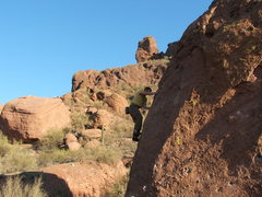 Rock Climbing Photo: Bouldering at Camelback Mt.