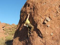 Rock Climbing Photo: Bouldering at Camelback Mt.