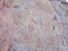 Rock Climbing Photo: Multi-pitch climbing at Camelback Mt.