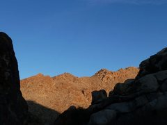 Rock Climbing Photo: The view from the Corral Wall, Joshua Tree NP