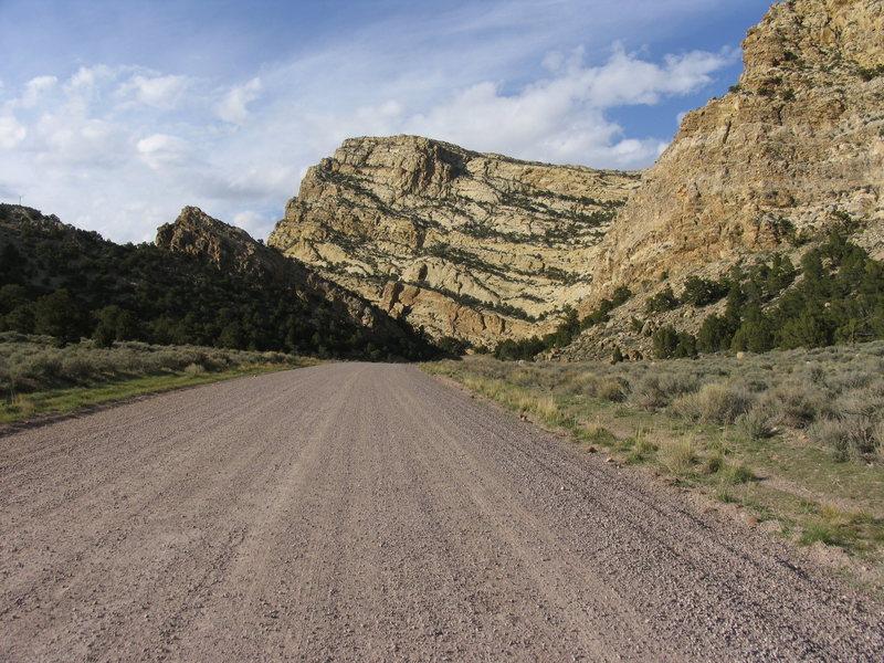 Irish Canyon Sandstone.