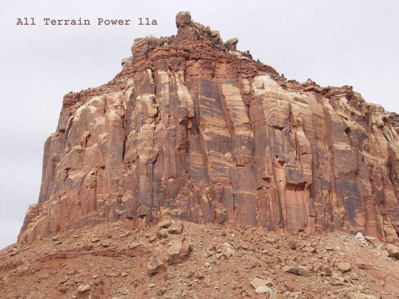 Rock Climbing Photo: Location of All Terrain Power