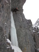 Rock Climbing Photo: Tourist Trap, Great climb, the ice was fat at the ...
