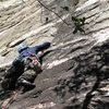 almost to 1st crux
