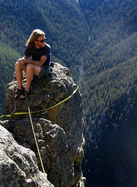 Rock Climbing Photo: Skyline Arete. Gallatin Canyon, MT.
