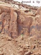 Rock Climbing Photo: Location Round & Up