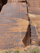 Rock Climbing Photo: Round & up