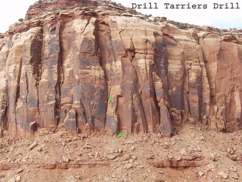 Rock Climbing Photo: Drill Harriers Drill