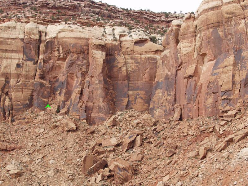 Rock Climbing Photo: Team OW Location