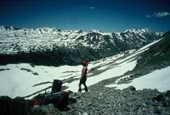 Rock Climbing Photo: Ahh...spring snow!