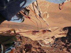 Rock Climbing Photo: Zenyatta Entrada.  P3 solo. February 2012