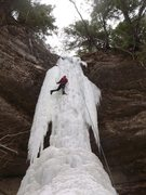 Rock Climbing Photo: Josh dances up Sweet Mother Moses  -photo by Soenk...