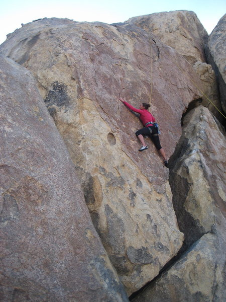 Me climbing New Red Archives