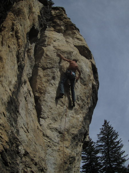 Rock Climbing Photo: this way? coin photo