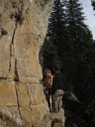 Rock Climbing Photo: high gravity day i think?