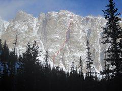 Rock Climbing Photo: Ze Route.