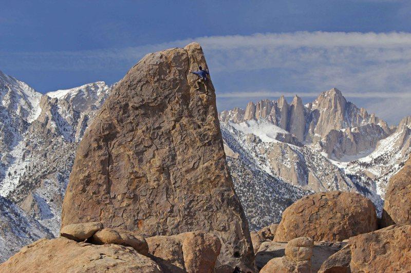 Rock Climbing Photo: Norm