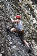Rock Climbing Photo: Josh at the Dikes