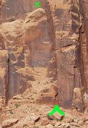 Rock Climbing Photo: Secret Area Access