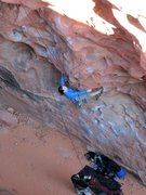 Rock Climbing Photo: Our good friends Anne, and Jason having fun in the...