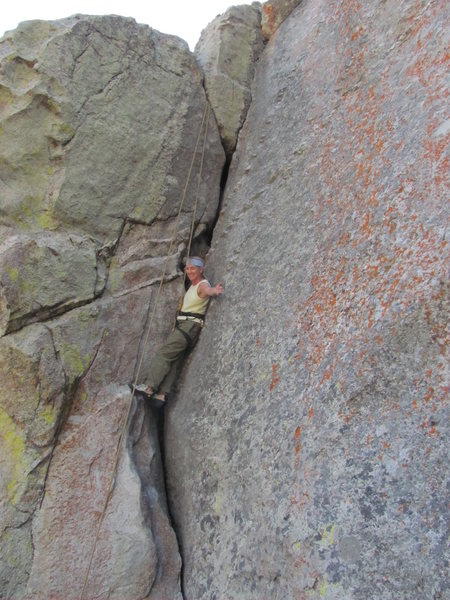 Rock Climbing Photo: Good rest available for Heidi!