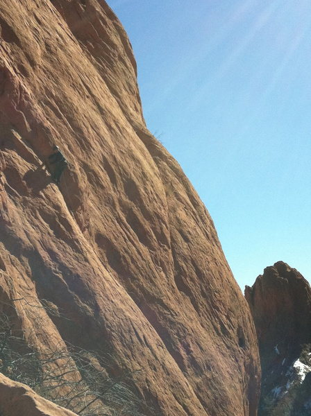 "Rock Climbing Photo: Again...""Hallumby""?? on Finger Ramp. Cla..."