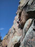 Rock Climbing Photo: Steve Babits lounging on Beta Licker