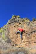 Rock Climbing Photo: fun problem if you use all the big holds there's o...