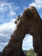 Rock Climbing Photo: Typical but great Gossamer shot