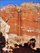 Rock Climbing Photo: Endocrine Disruptor problem on the Megalomania Blo...