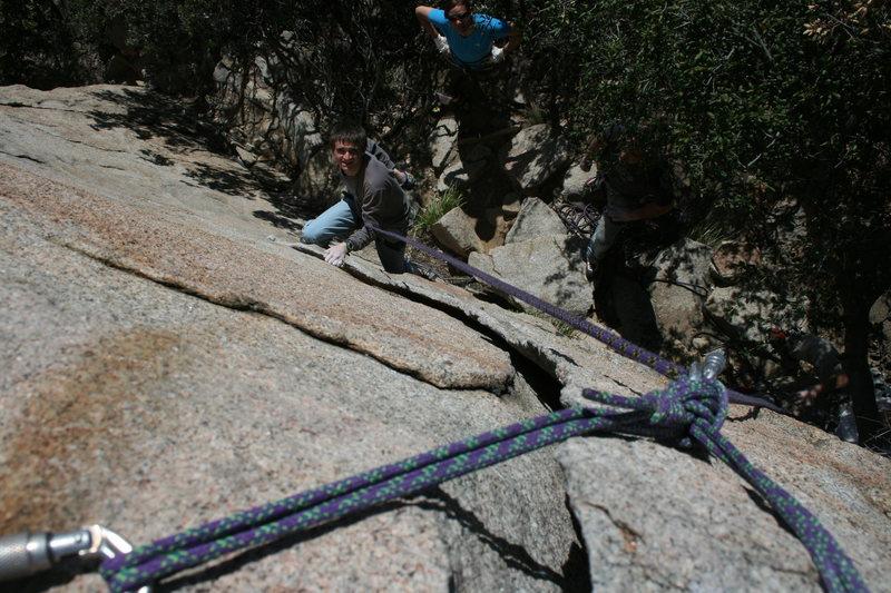 Rock Climbing Photo: Adam 2-25-12