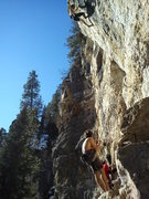 Rock Climbing Photo: Land of the Shorties on a nice day in February.