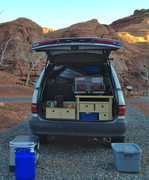 Rock Climbing Photo: Previa AWD kitchen