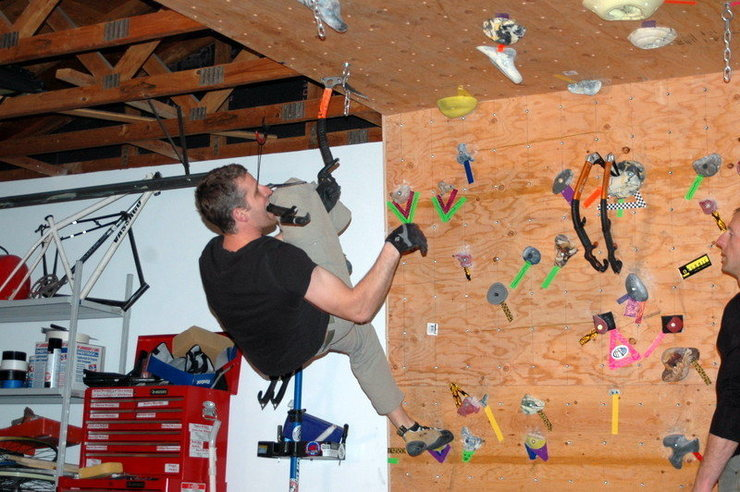 Rock Climbing Photo: Aaron getting strong!
