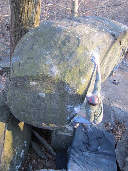 Rock Climbing Photo: Got it.