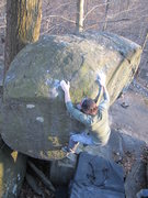 Rock Climbing Photo: Bigfoot. V3. Governor Stable