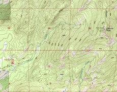 Rock Climbing Photo: Laramie Peak Trail Map