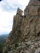 Rock Climbing Photo: Looking at the north side of Friend Creek Pinnacle