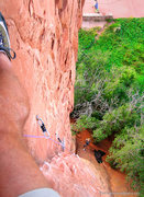 Rock Climbing Photo: Mighty Thor, climber's perspective.  Photo: Dances...