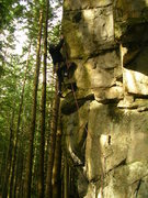 Rock Climbing Photo: cold winter day.