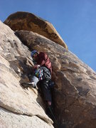 Rock Climbing Photo: Brian helped me with my first lead on B-1.  Thanks...