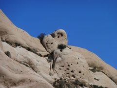 Rock Climbing Photo: Heart Rock, Mormon Rocks
