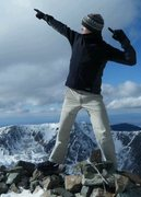 Rock Climbing Photo: dat's right mon!