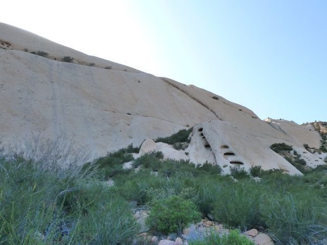 Rock Climbing Photo: The center and right side of Mormon Slab, Mormon R...